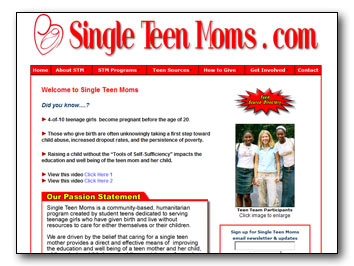 Single Teen Moms